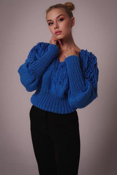 Sweter Paris Blue