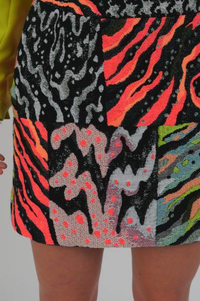 Spódnica Cuba Colorful Pattern