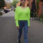 Sweter Paris Neon Lime